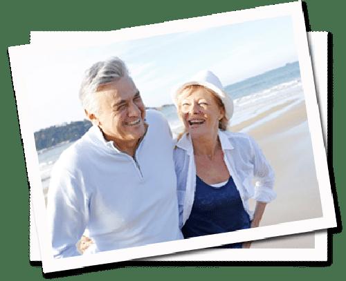Starsza para potrzebuje prostego telefonu dla osób starszych