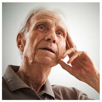Osoby cierpiące na zasiłki Alzheimera / otępienia