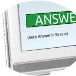 Call auto-answer by Konnekt large simple video phone