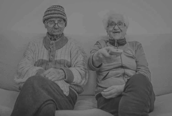 Elderly depression doubles without face-to-face contact