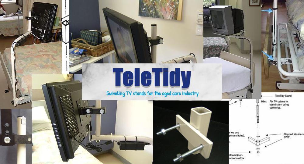 Konnekt パートナーのベッドマウント用TeleTidy