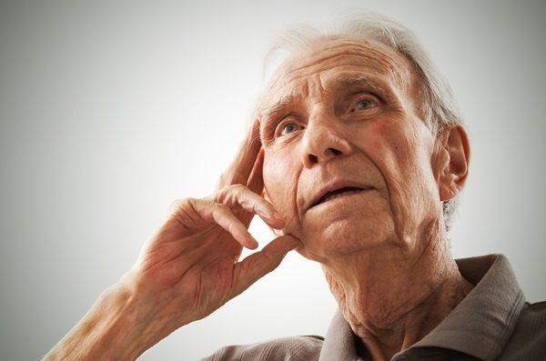 Gentleman with dementia