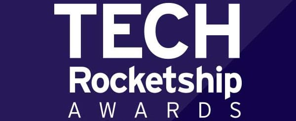 Logo dei Tech Rocketship Awards