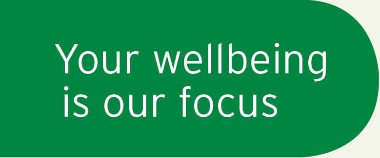 Your Wellbeing is Our Focus -- SummitCare Motto