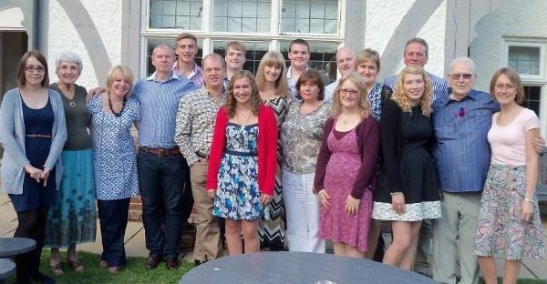 Geoff's family re-unites