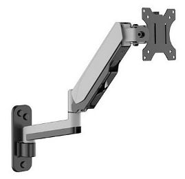 Extendable arm wall mount
