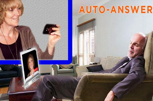 Independent living solutions - using Skype and Konnekt videophone to check visually on elderly parent