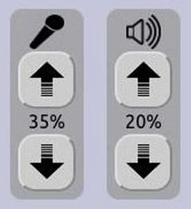 User Sound Controls
